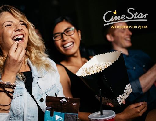 5 CineStar Kinogutscheine für 2D-Filme inkl. Sitzplatz- und Filmzuschlag nur 30,- Euro bei Groupon