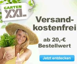 Heute Neu: 7% Rabatt auf das gesamte Sortiment bei GartenXXL