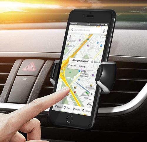 Verschiedene Mpow Auto Handyhalterungen zur Montage am Lüftungsgitter ab 5,99 Euro inkl. Primeversand