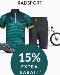 Engelhorn Sports Weekly Deal mit 15% Rabatt auf Artikel der Kategorie Radsport
