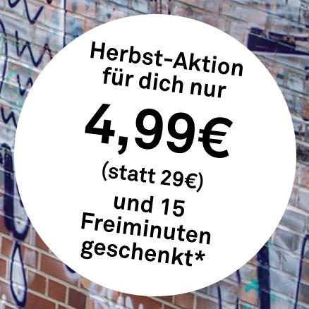 Letzter Tag: Für 4,99 Euro als Neukunde bei DriveNow anmelden (statt 29,- Euro) und 15 Freiminuten geschenkt