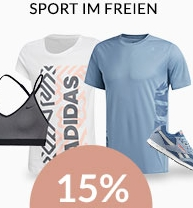 Engelhorn Weekly Deal Sport mit 15% Rabatt auf die Kategorie Freizeitsport!