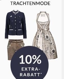 Engelhorn Mode Weekly Deal: 10% Rabatt auf Trachtenmode