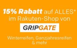 10% Rabatt auf alle Artikel des Händlers GRIPGATE bei Rakuten