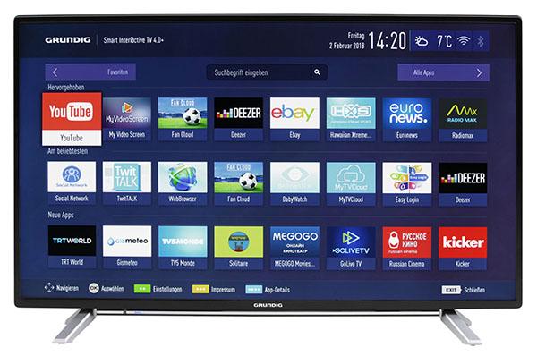 Grundig 40 GFB 6728 40 Zoll Full-HD Smart TV für nur 333,- Euro inkl. Lieferung
