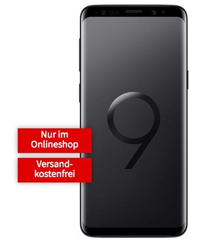 Geht noch! Samsung Galaxy S9 für einmalig 4,99 Euro mit 1GB Flat im Vodafone-Netz für 19,99 Euro mtl. + Galaxy Tab E gratis!