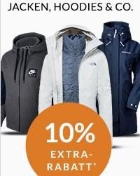 Engelhorn Sports Weekly Deal: 10% Rabatt auf Jacken, Sweater & Co (Naketano, Superdry uvm.)