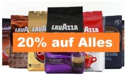20 % Rabatt auf fast Alles bei Kaffeevorteil – auch auf reduzierte Ware (MBW: 30,- Euro)