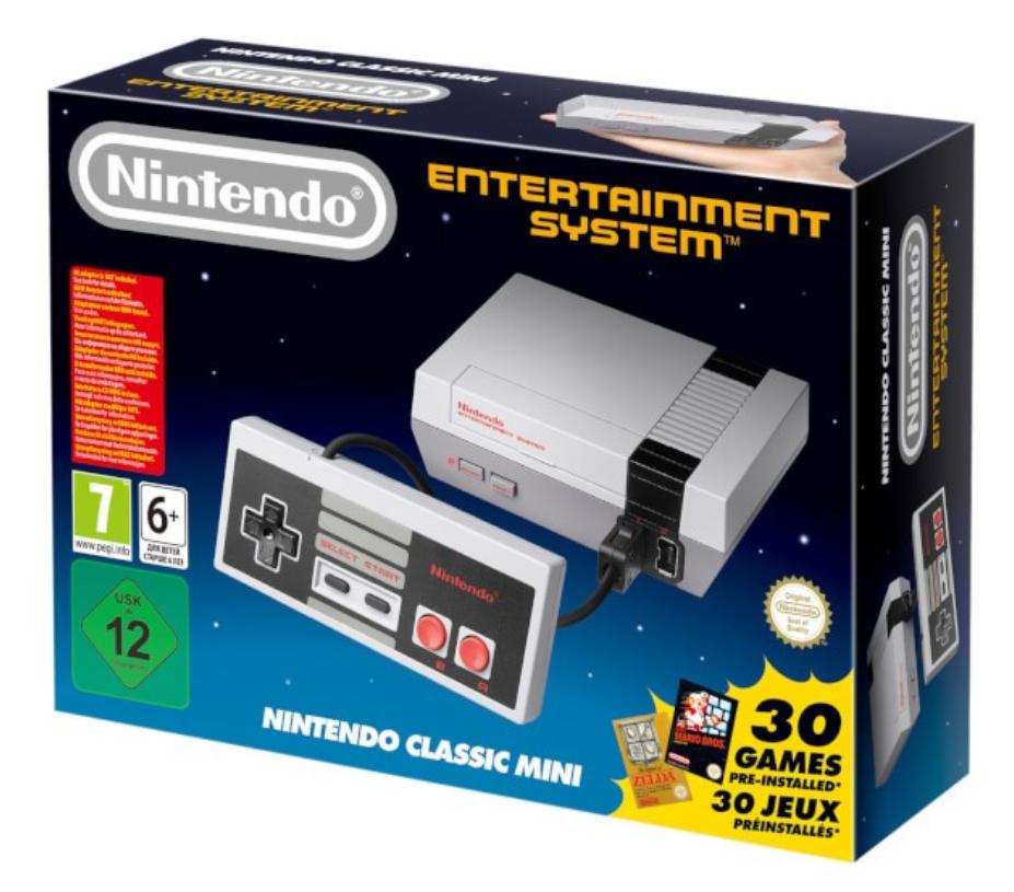 Nintendo NES Classic Mini Entertainment System inkl. 30 Spiele für nur 37,90 Euro inkl. Versand