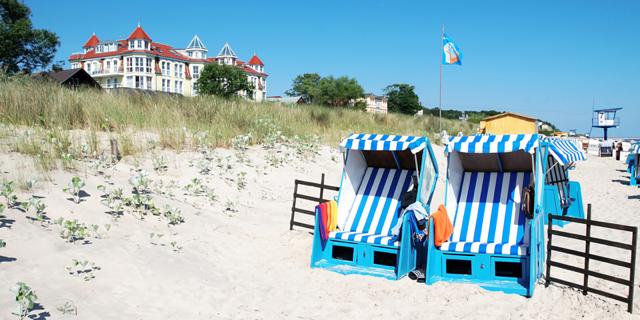 Usedom/Heringsdorf! Übernachtung mit Frühstück im gemütlichen 3* Strandhotel (100%) für 2 Personen nur 70,- Euro – Hunde erlaubt!