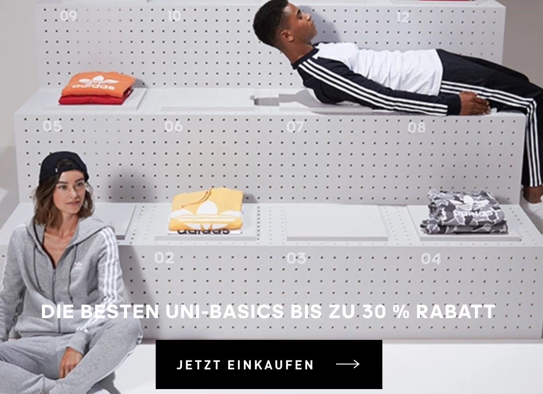 20% Rabatt auf Back to Sport Produkte bei Adidas