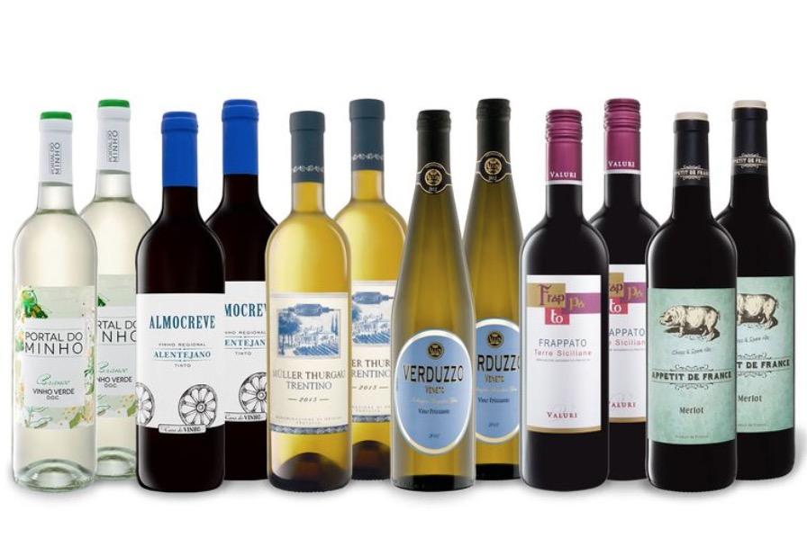 LIDL Knallerangebot: 12 Flaschen Wein nur 29,94 Euro inkl. Lieferung