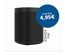 Knaller: O2 DSL M 50 MBit/s zum Aktionspreis ohne Anschlussgebühr + Sonos ONE für einmalig 4,95 Euro Zuzahlung