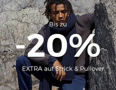 Bis zu 20% Extra-Rabatt auf Strick im ABOUT YOU Onlineshop
