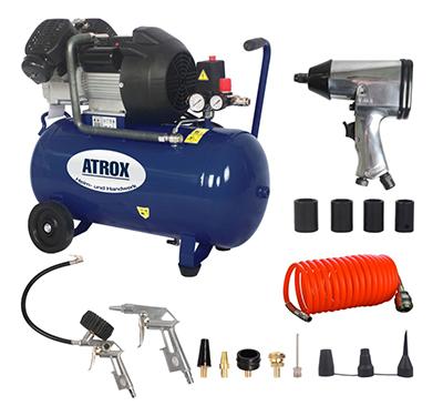 Atrox AY676 Doppelzylinder-Kompressor-Set für nur 189,99 Euro inkl. Versand
