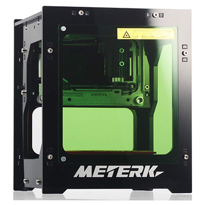 Meterk Laser Graviermaschine 1500mw (Steuerung per Smartphone oder PC) für nur 86,99 Euro inkl. Versand