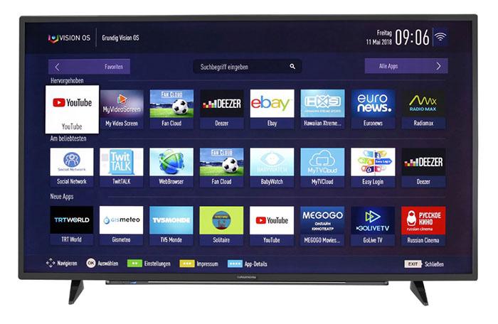 Grundig 55 VLX 7810 BP 55 Zoll 4K/UHD Smart TV für nur 369,- Euro inkl. Lieferung