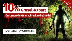 Nur noch heute: 10% Gruselrabatt auf Alles bei GartenXXL