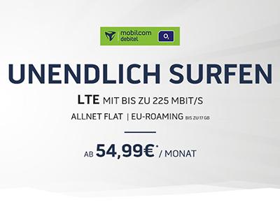 Handyflash Mega-Deal: MD o2 Free Unlimited mit unbegrenzt Datenvolumen ab mtl. 54,99 Euro + Top-Smartphone – z.B. Galaxy S9 für einmalig 4,95 Euro