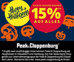 9860bcc012c0d6 Super! 15% Halloween Rabatt auf den gesamten Einkauf ab 99