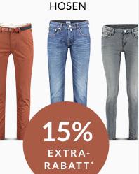 Engelhorn Weekly-Deal mit 15% Rabatt auf Hosen