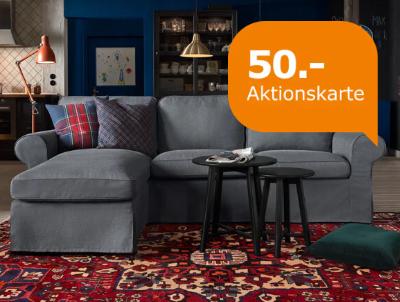 Ikea Aktionskarte Sofas Beim Für 50Euro Kauf 400 Eines ARLS543jqc
