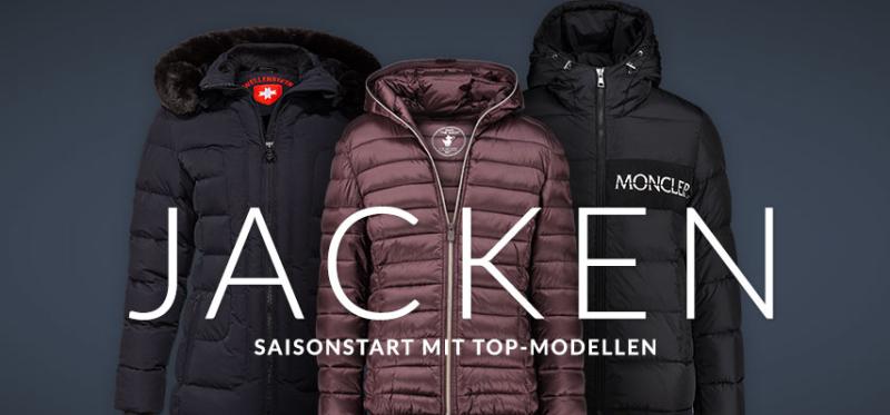 Engelhorn Mode Weekly-Deal: 10% Extra Rabatt auf viele Jacken