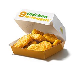 23. Oktober: 9er Chicken McNuggets für 1,50 Euro