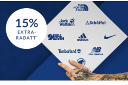 15% Gutscheincode zum Motivational Monday auf viele Sportartikel bei Engelhorn