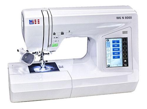 W6 N 8000 Computergesteuerte Nähmaschine mit 504 Programmen für nur 569,99 Euro inkl. Versand