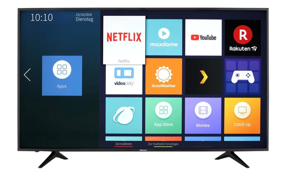 Hisense H65AE6030 65 Zoll 4K/UHD-Smart TV für nur 599,- Euro inkl. Lieferung (statt 669,- Euro)