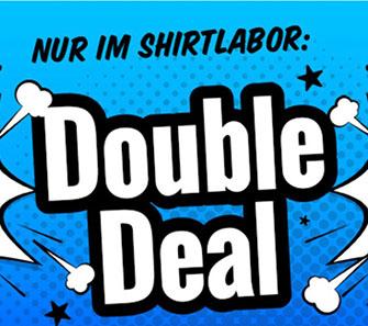 20% Rabatt auf alle selbst bedruckte Sweatshirts im Shirtlabor Onlineshop