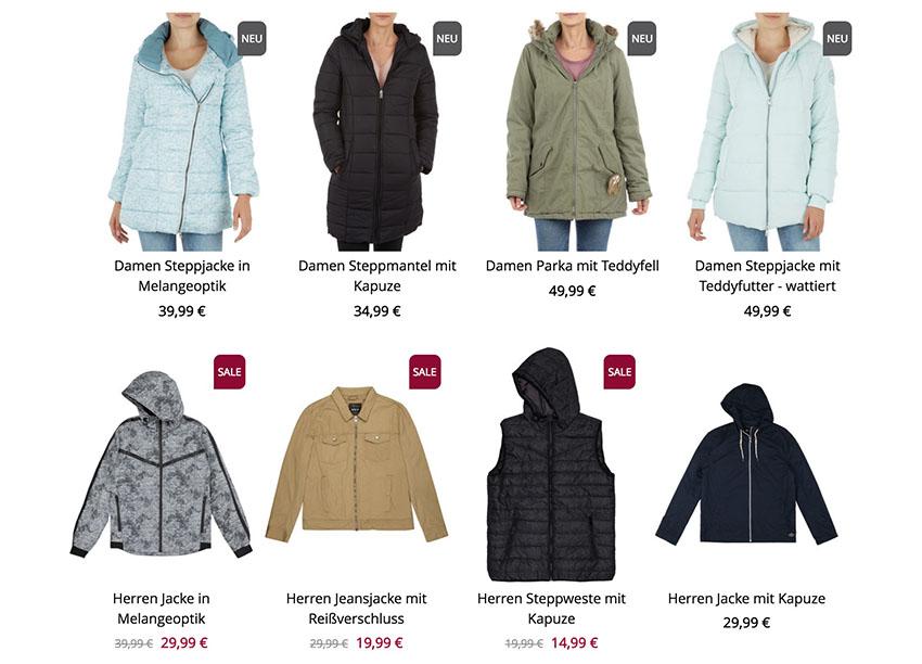 Letzter Tag: 30% Rabatt auf ausgewählte Jacken für Damen