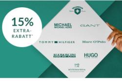 Trendy Tuesday bei Engelhorn mit 15% Gutscheincode auf viele Marken wie Boss, Hilfiger oder Gant