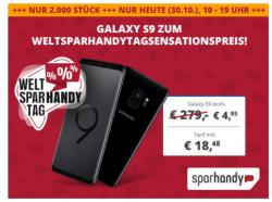 Samsung Galaxy S9 mit OTELO Fantarif für nur 18,48 Euro mtl. und einmalig 4,95 Euro Zuzahlung