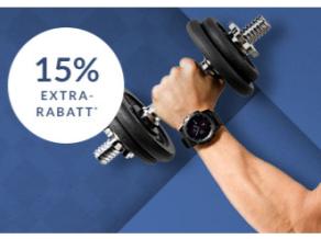 Workout Wednesday bei Engelhorn mit 15% Rabatt auf Fitness, Running, Cross Fit