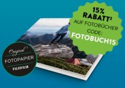 15% Gutscheincode auf Fotobücher