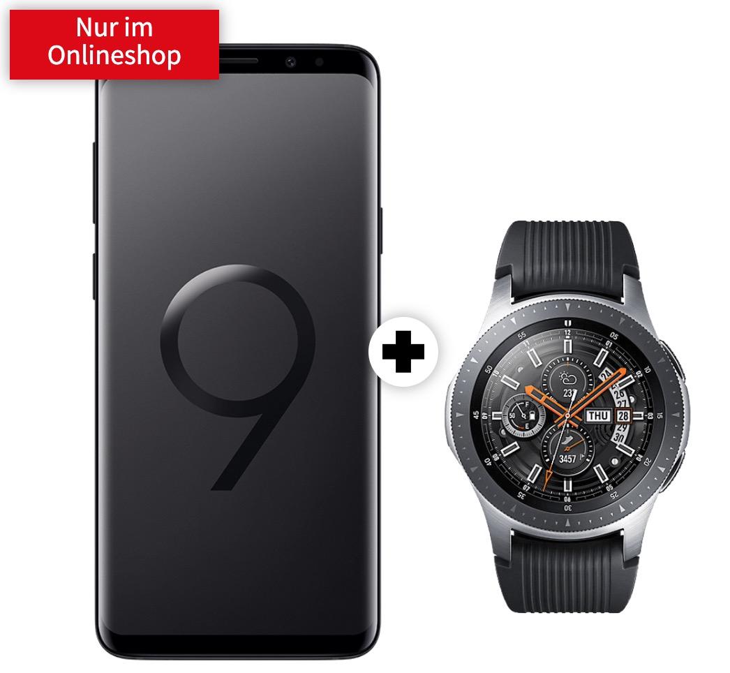 o2 Free M Boost mit 20GB Daten mtl. 39,99 Euro + Samsung Galaxy S9+ & Galaxy Watch für einmalig 49,- Euro