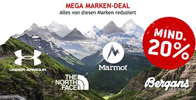 Bergfreunde Onlineshop: Mindestens 20% Rabatt auf ausgewählte Marken – z.B. The North Face