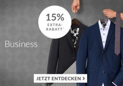 Engelhorn & Friends Aktionswoche: Heute 15% Rabatt auf Businessmode