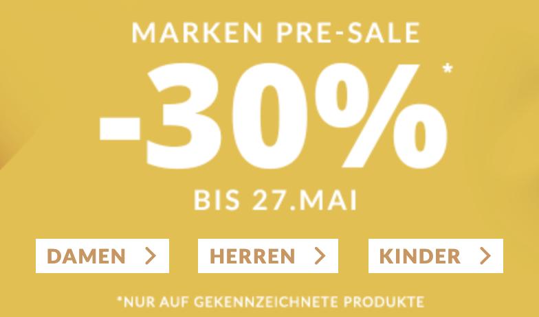30% Rabatt auf die Marken Boss und Tommy Hilfiger im Engelhorn Onlineshop