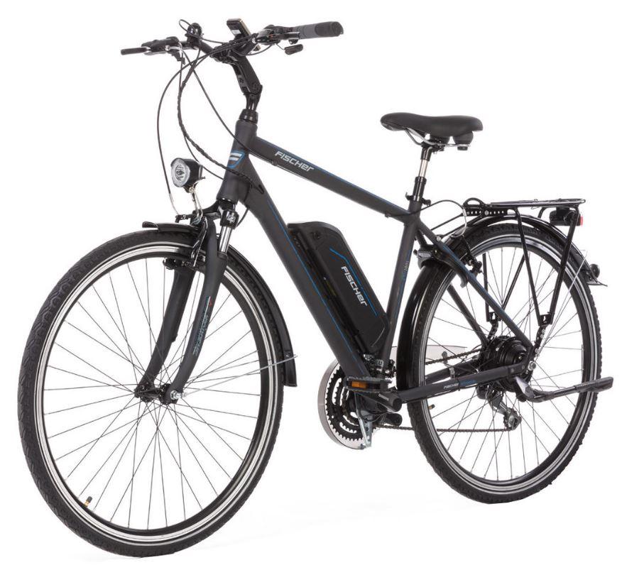Nur noch wenige verfügbar! FISCHER ETH 1801-R1 Trekkingrad (28 Zoll, 50 cm, Trapez, 396 Wh, Grau) für nur 989,- Euro inkl. Versand