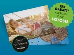 15% Gutscheincode auf Fotoabzüge ab 5,- Euro Bestellwert