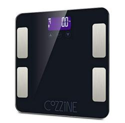 Cozzine Körperfettwaage mit Bluetooth und App für nur 17,99 Euro inkl. Prime Versand