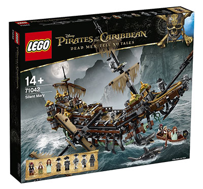 LEGO Disney Pirates of the Caribbean - 71042 Silent Mary
