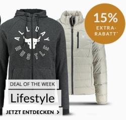 Engelhorn Sports Weekly Deal: 15% Rabatt auf Lifestyle- und Trainingsklamotten