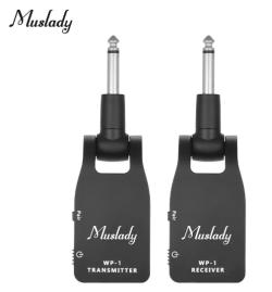 Muslady 2.4G Wireless E-Gitarren Transmitter-Set für nur 25,41 Euro