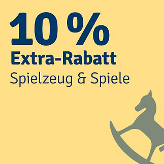10% Rabatt auf Spielzeug & Spiele im myToys Onlineshop