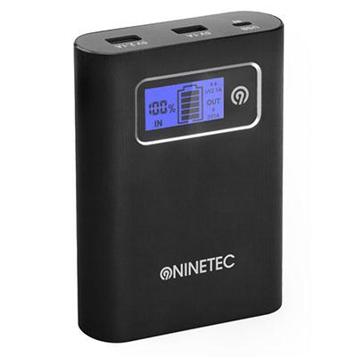 NINETEC PowerDrive 13.400mAh Power Bank mit integriertem 16GB USB Speicher für nur 24,94 Euro