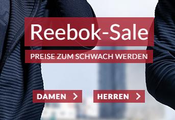 20% Rabatt auf Reebok Artikel im Engelhorn Sport Onlineshop